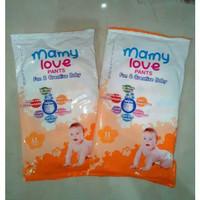 Popok sekali pakai Pampers MamyLove Baby Diapers Pants L Jual Per 6 pc