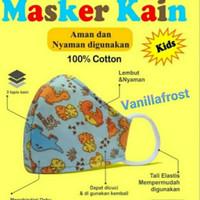 Masker Anak 3 Ply Katun 100% Berstandar SNI
