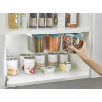Joseph Joseph CupboardStore 3 x 1.3 litre Food Storage Set - Dark Opal