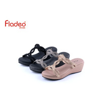 Fladeo I20/LDFH536-3RA/Sandal For Ladies [ Wedges Style ]