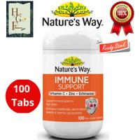 Nature's way immune support vitamin c +zinc+echinacea
