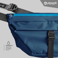 Pinnacle Hexa Pack - Blue Zipper Light Blue ( Sling Bag )