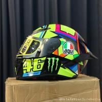 Helm AGV Pista GPR Clone Grade A+ Valentino Rossi Soleluna 2016