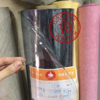 Plastik Mika meteran 0,5mm soft/lemas