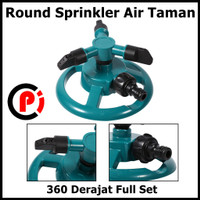 EECOO Round Sprinkler Air Taman 360 Derajat Full Set