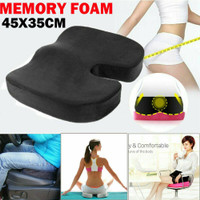 MEMORY FOAM Bantalan Alas Duduk Seat Office Cushion Pain Relief Pillow