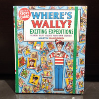 Where's Wally? Exciting Expeditions Book by Martin Handford