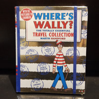Where's Wally? The Totally Essential Travel Collection Book by Martin