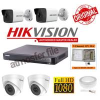PAKET CCTV HIKVISION 4CH 1080P 2MP +PSU BOX