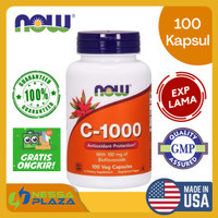 [READY] NOW FOODS FOOD Vitamin C 1000 C-1000 C1000 - 100 Veg Caps