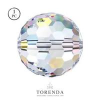 Swarovski Crystal Beads Art 5003 - Aurore Boreale ( 10mm, 12mm )