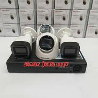 PAKET CCTV 4CHANEL HIKVISION FULL HD 2MP(LNGKP SIAP PSNG)