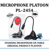 Microphone Platoon PL-2454 - Standing Microphone On The Table