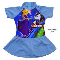 Baju Renang Rok Bayi Karakter Unicorn BRDR-BYK02