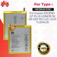 Baterai Original Honor 5X , G8 Rio , GR5 , L03-UL00 , TL00 HB396481EBC