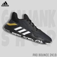 Sepatu Basket ADIDAS Pro Bounce 2K19 Low Black/Gold 100% Original BNIB