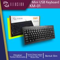 ILLUSION MINI USB KEYBOARD KM-01