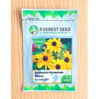isi 10 Benih Bunga Rudbeckia Marmalade Yellow Everest Seed