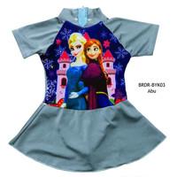 Baju Renang Rok Bayi Karakter Frozen BRDR-BYK03