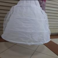 Petticoat 4 susun ring kawat Dalaman pengantin