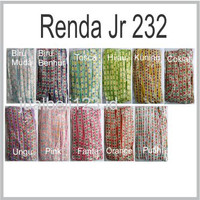 Renda Kerudung Renda Jilbab JR 232