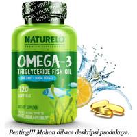 Naturelo Omega-3 Triglyceride Fish Oil 1100mg