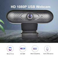 Kamera Zoom Komputer Built-In Mic Webcam 1080P Camera Full HD X6
