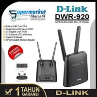 D-Link DWR 920 Wireless N300 Modem WiFi 4G LTE Router