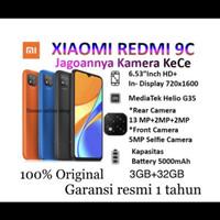 Xiaomi Redmi 9c 3/32gb Garansi Resmi 2 tahun