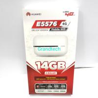 Mifi Huawei E5576 Free Kartu Telkomsel 14GB 60 Hari Unlocked