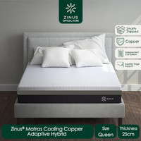 Zinus® Kasur 25 cm Cooling Copper Adaptive - Ukuran Queen