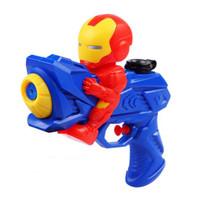 pistol air mainan anak karakter cartoon water gun hma016