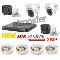 Paket cctv HIKVISION 4CH FULL HD CCTV 2MP ORIGINAL PAKET PROMO LEBARAN
