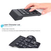 Wireless Portable Numeric Keypad Numpad 2.4GHz Keyboard Numerik 10M