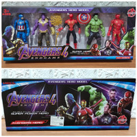 Figure Set Avengers 4 Endgame isi 5