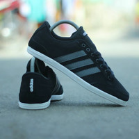 Adidas Neo Caflaire Black List Silver 100% Original Made in Indonesia