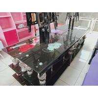 Exclusive... Meja TV Tempered Glass Murah Meriah