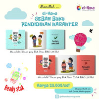 Buku Cerita Anak Islam Sebar Buku Pendidikan Karakter Anak (2 Buku)