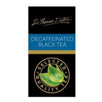 LIPTON DECAFFEINATED BLACK TEA SIR THOMAS
