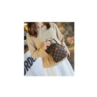 Korean High Quality Brown Queen Bee Sling Bag Tas Selempang