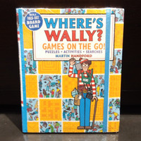 Where's Waldo? Games on the Go! Puzzles, Activities, and Searches