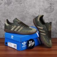 Adidas Samba OG Green Army Ft Night Cargo Gold Hijau Gum Leather