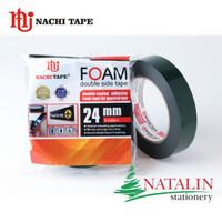 Double Foam Tape NACHI 24mm (1) x 5 meter (Hijau)