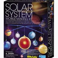 4M Glow-in-the-Dark Solar System Mobile Making Kit, Multi