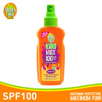 Beach Hut Kids Max Sunblock SPF 100 50ml / kid spray spf 100 150ml