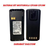 BATERAI HT MOTOROLA LITHIUM CP1660 CP1300 CP-1660 CP-1300 + BELT KLIP