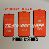 TEMPERED GLASS FULL GLUE 5D/9D/21D IPHONE 12/12 PRO/12 MAX/12 PRO MAX