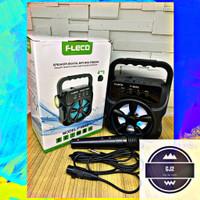 Speaker Bluetooth FLECO F-804S Free Mic Bisa Senter - Spiker Portable