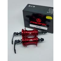 Pacific Hub 36 hole model drat disc brake 6 bolt sepeda MTB lipat