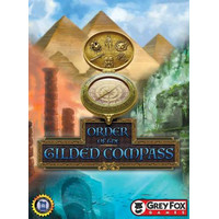 Order of the Gilded Compass Board Game ( Preloved )